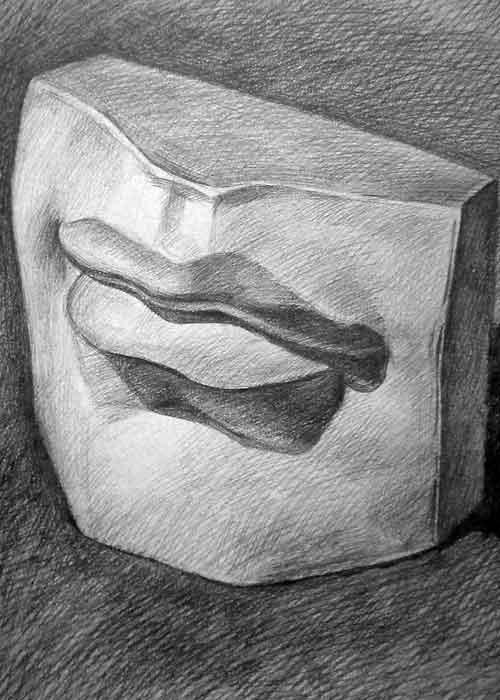 动漫鼻子的画法 动漫人物嘴巴的画法动漫嘴巴的画