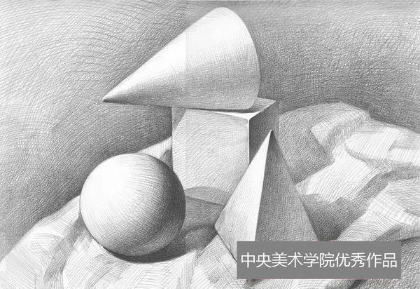 素描石膏几何体视频_素描石膏人头图片