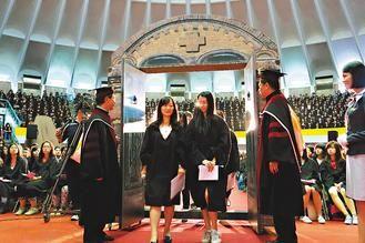 台湾一所大学特色迎新生