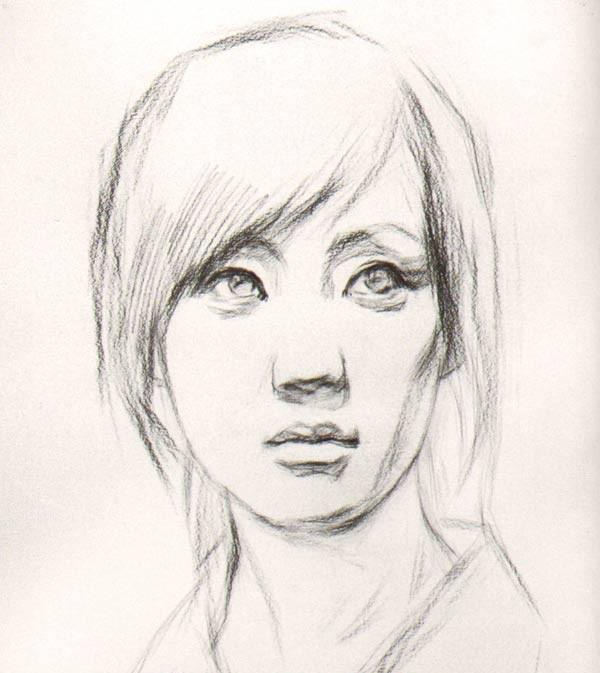 素描教程步骤图解 画眼睛的步骤图 素描入门 铅笔画步骤