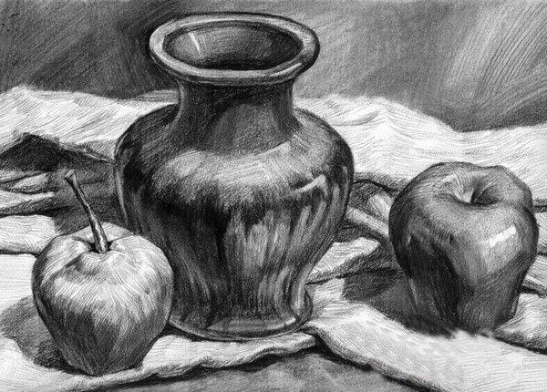 素描静物葡萄的画法素描苹果的画法素描眼睛的