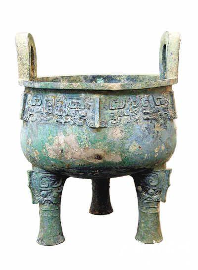首都博物馆青铜器堇鼎