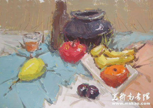 江南大学2013年美术设计类色彩题目学艺生活