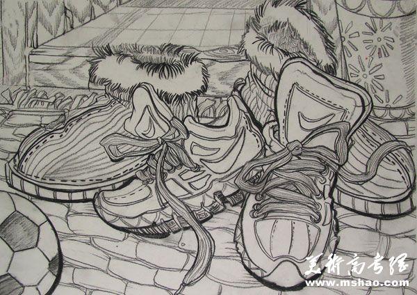 江南大学2013年美术设计类素描考试题目
