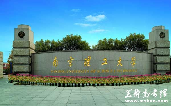 南京理工大学2016年艺术类专业招生简章