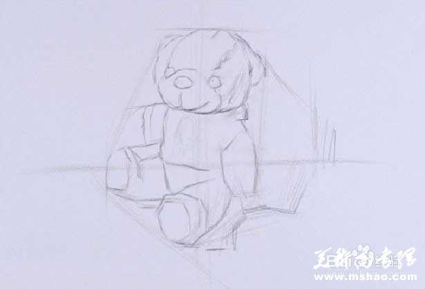 素描布娃娃的画法2