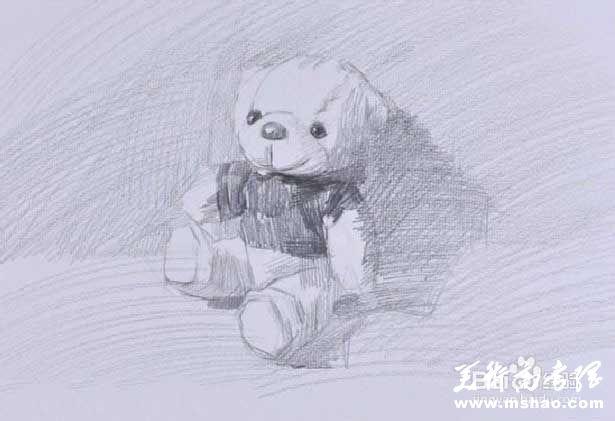 素描布娃娃的画法3