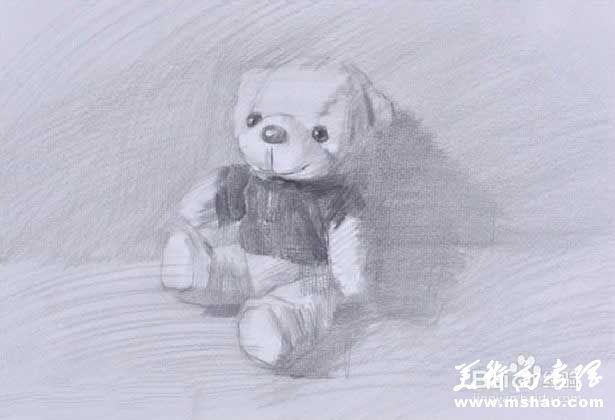 素描布娃娃的画法4