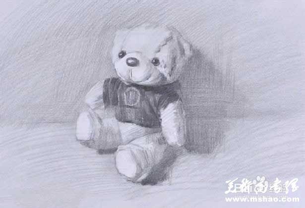 素描布娃娃的画法5