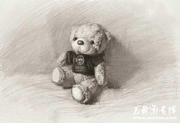 素描布娃娃的画法6