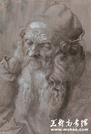 江苏2015年美术联考素描考题名家作品临摹示例