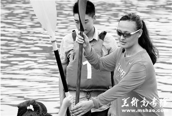 高大上的大学体育课有哪些 浙江大学首开皮划艇