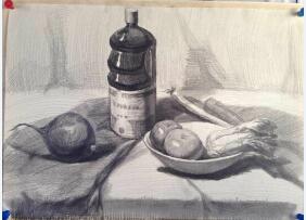 2015年吉林美术联考素描考试题目