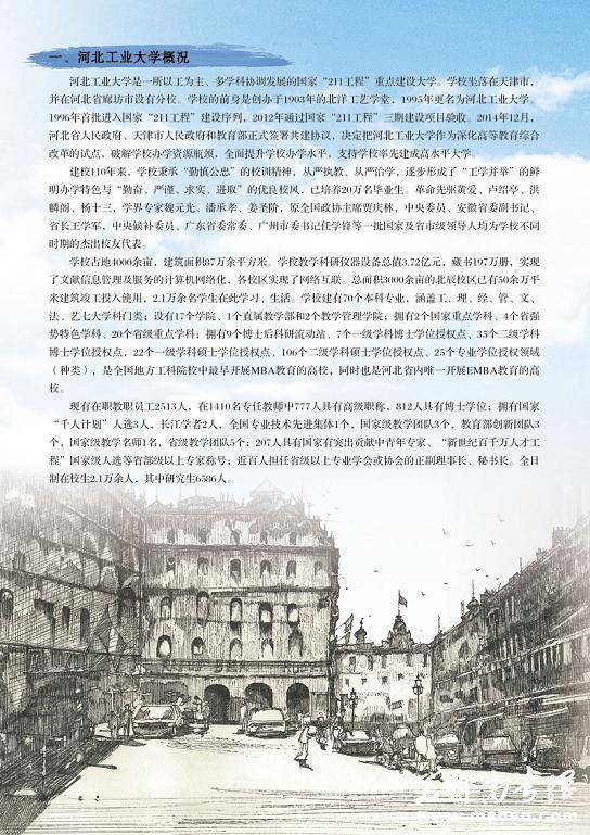 河北工业大学2015年艺术类专业招生简章2