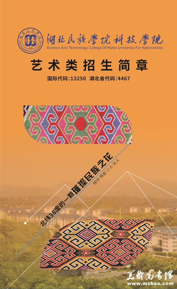 湖北民族学院科技学院2015年艺术类专业招生简章