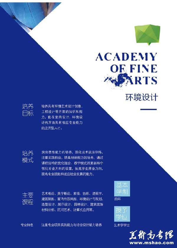 大连大学2015年艺术专业招生简章11