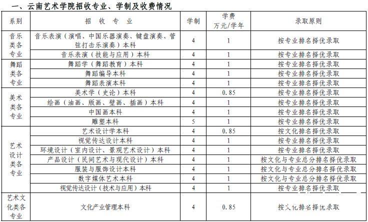 云南艺术学院2015年艺术类专业招生简章(四川)
