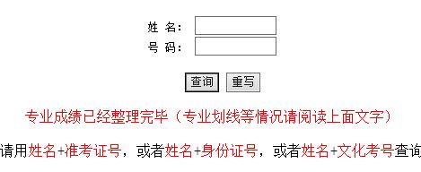 华南农业大学2015年音乐校考成绩查询