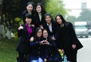 南京外国语学校七位女学霸被世界名校相中