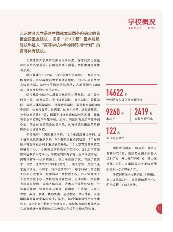 北京体育大学2016年艺术类舞蹈表演/表演专业招生简章