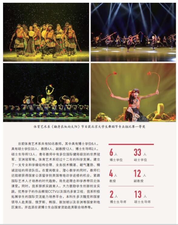 北京体育大学2016年艺术类舞蹈表演/表演专业招生简章4
