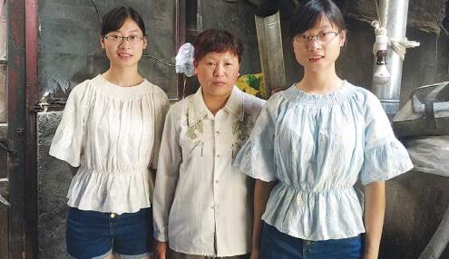 济宁双胞胎姐妹高考考出好成绩 为万元学费犯愁