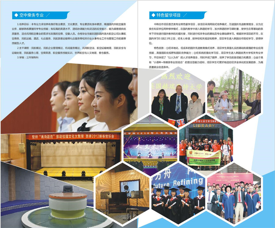 西安翻译学院2017年艺术类校考专业报考指南4