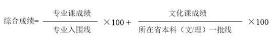 清华大学美术学院2017年本科录取原则