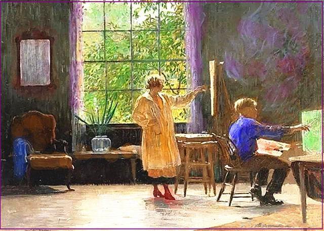 一个美术生要学多少年画才有把握考上美术学院?