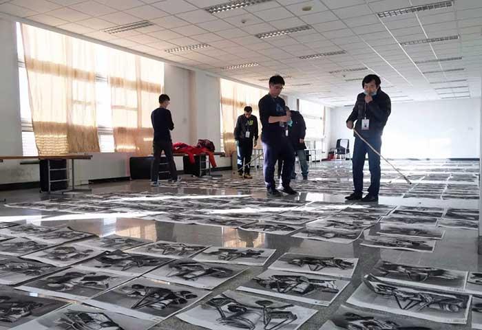 探访山东美术统考评卷现场,统考成绩1月29日后公布