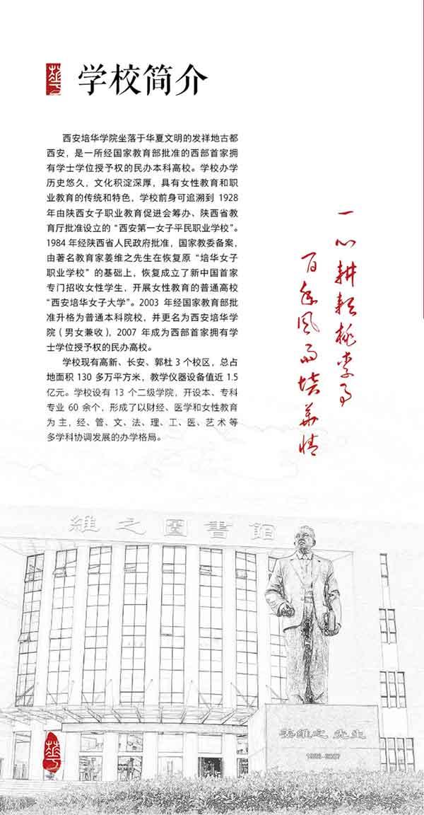 西安培华学院2018年艺术类专业招生简章