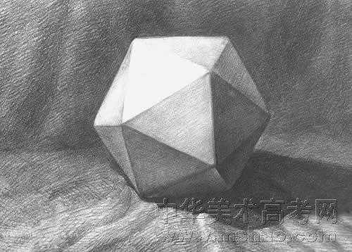 素描静物球体临摹内容素描静物球体临摹版面设计
