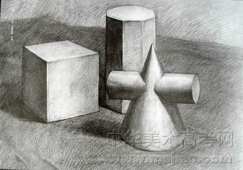 单个静物素描教案-单个静物素描步骤,素描静物单个罐子图片,静物结构