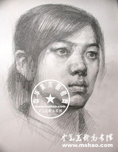 素描人物头像简笔画素描人物头像步骤图唯美素描人物头像女; 大师头像