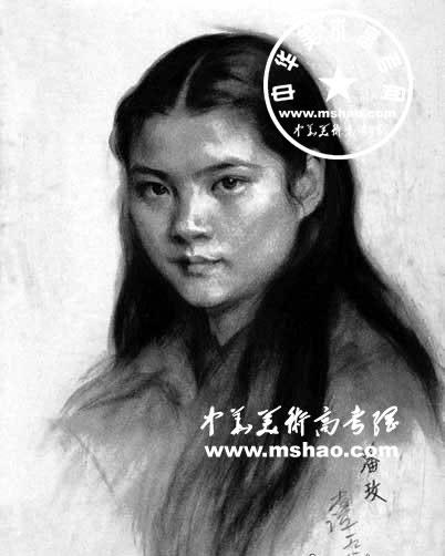 老年人素描头像作品(2)_乐乐简笔画